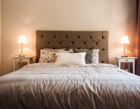 1 BHK Beds|1 BHK King Size Bedroom