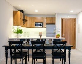 1 BHK Luxurious Dining Table + Kitchen|1 BHK Dining Table + Kitchen