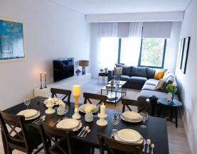 Luxurious Rooms In Jeddah|2 BHK Dining Area